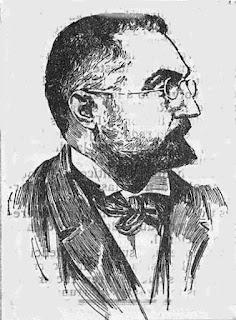 Miguel de Unamuno. Grabado publicado en 1910