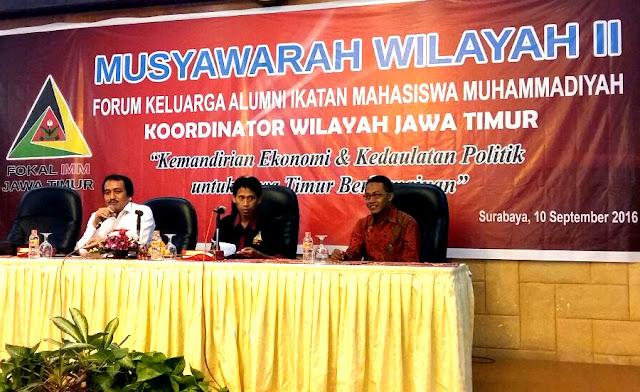 Musywil II Alumni IMM Jawa Timur, Rektor Unmuh Malang Dewan Pakar