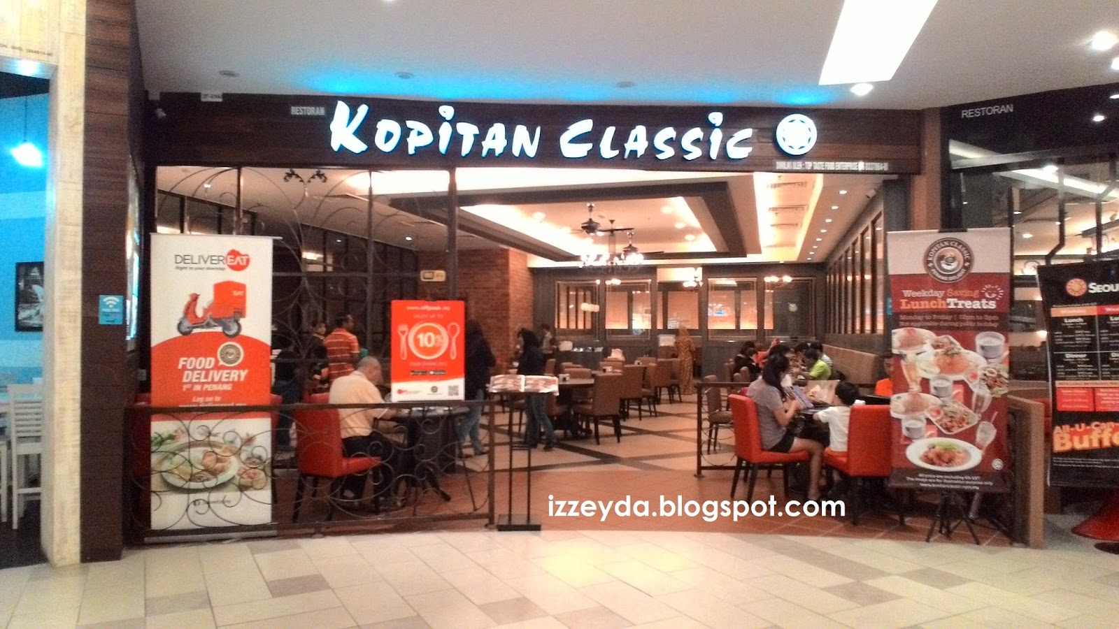 Kopitan classic queensbay mall penang for Terrace 9 classic penang