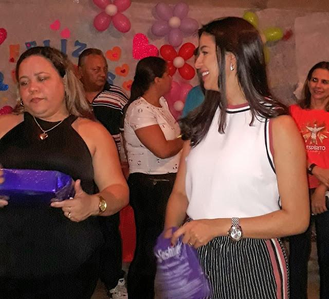 Pré candidata a deputada estadual Daniella Tema conta com apoio político na ilha de São Luís.