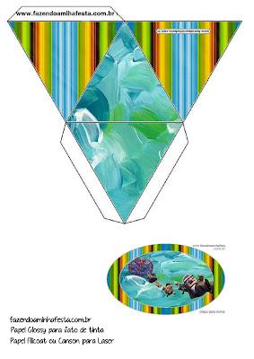 Película de Pixar Up: Cajas para Imprimir Gratis