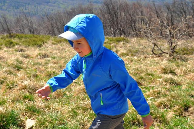 kurtka softshell dla dziecka