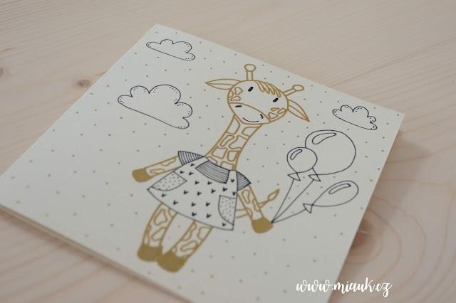 žirafa přání