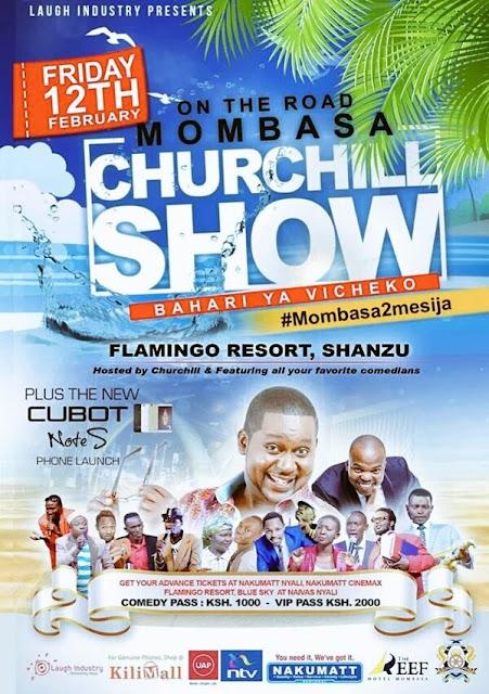 #ChurchillShowInMombasa