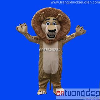 cho thuê mascot sư tử