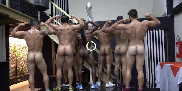 MuscleDom - Naked Catwalk