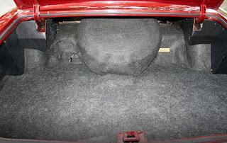 1973 Oldsmobile 98 Luxury Sedan Baggage