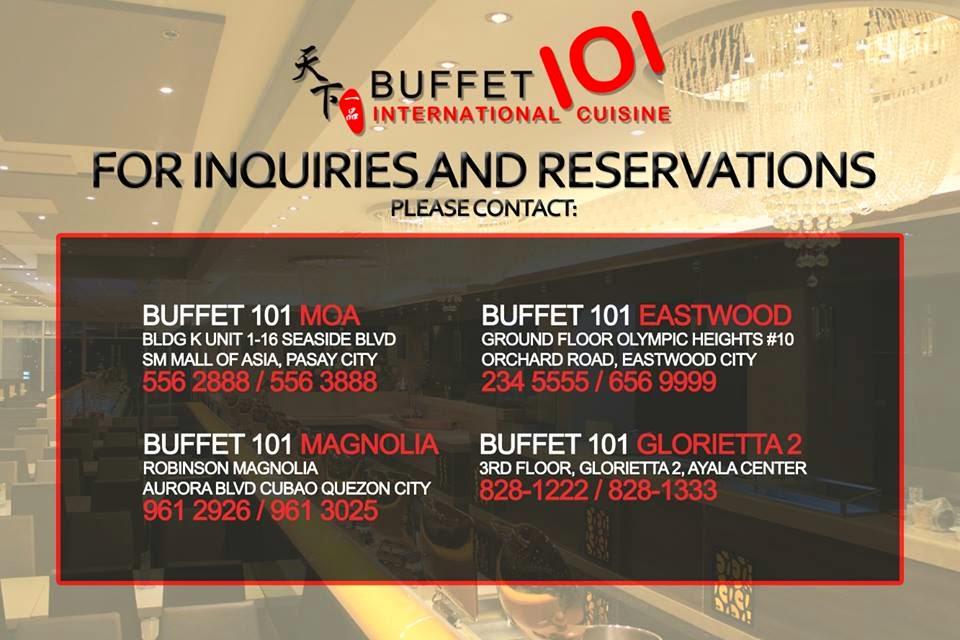 manila shopper buffet 101 promo for birthday celebrators rh manilashopper com