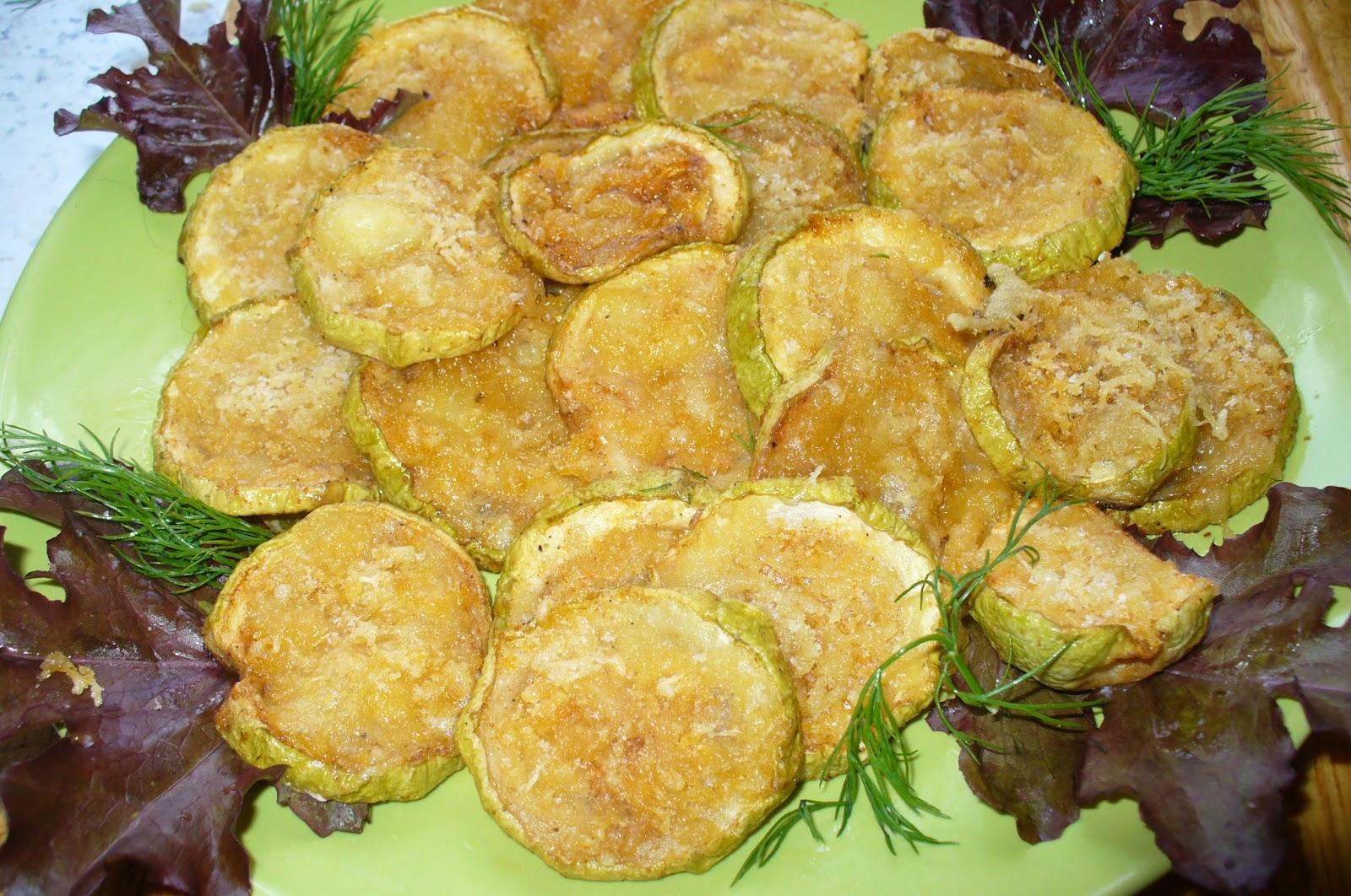 кабачки запеченные с сыром готовые