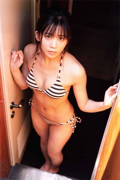 Miharu Nara 奈良未遥, B.L.T. 2018.08 (ビー・エル・ティー 2018年8月号)