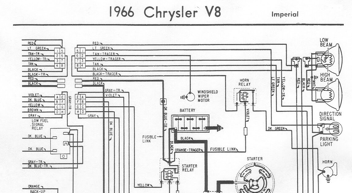 Free Auto Wiring Diagram: 1970 Plymouth Belvedere GTX, Road Runner, And Satellite Engine