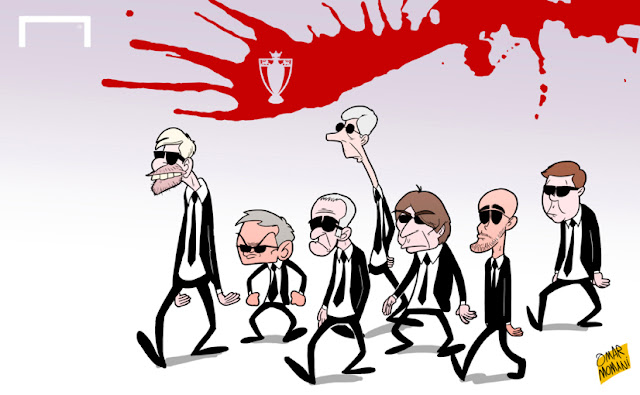 The Premier League managers cast Reservoir Dogs