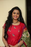 Manasa in Pink Salwar At Fashion Designer Son of Ladies Tailor Press Meet Pics ~  Exclusive 15.JPG