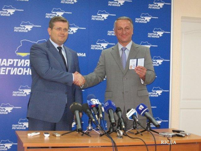 Иван Куличенко вступил в Партию регионов