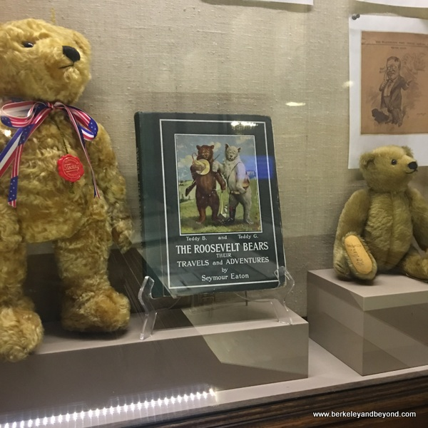 teddy bear display at Theodore Roosevelt Birthplace in NYC