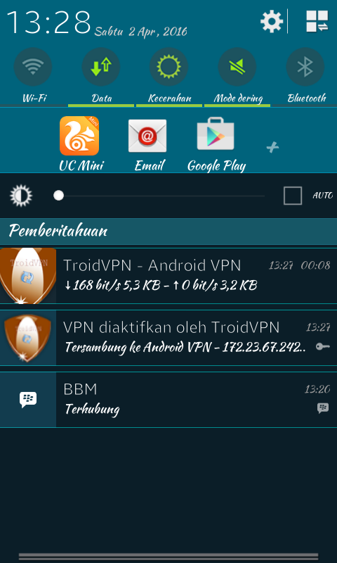 Tutorial Internet Gratis Unlimited Menggunakan Troid VPN Di Android