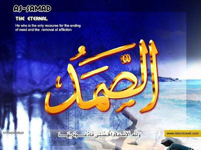 Asmaul Husna - As Shomad (Yang Maha Tidak Tergantung) - (banggajadimoslem.blogspot.com)
