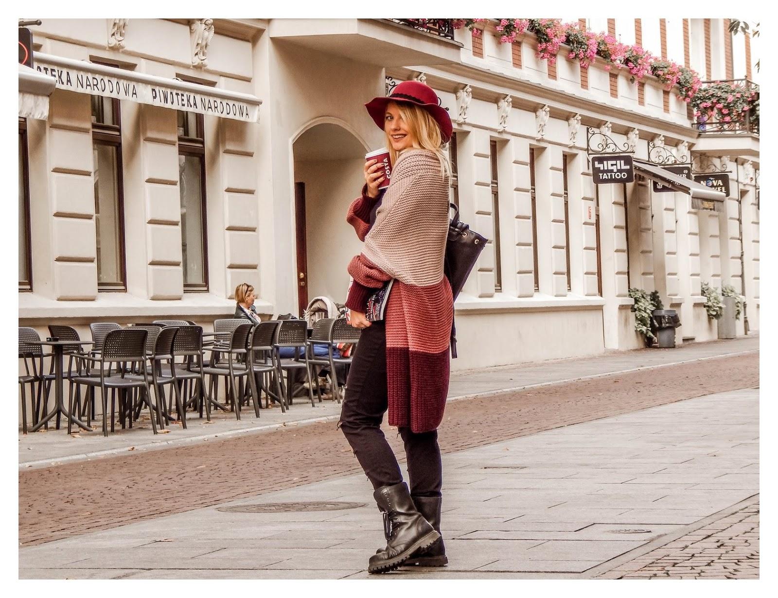 5 detale zegarek daniel wellington złote pierścionki pomysł na stylizacje prezent modnapolka łódź outfit jak nosić swetry owersize kolorowe ubrania na jesień co jest modne jesień zima 2018 blondynka kolory włosy