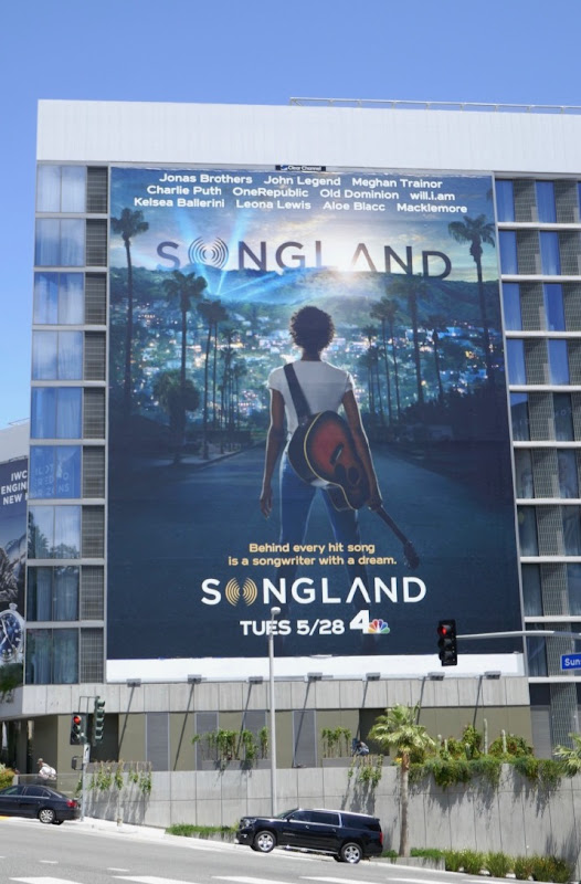 Giant Songland series premiere billboard