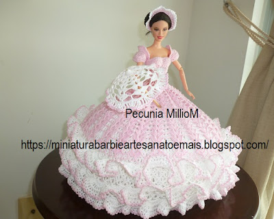 Bed Doll Miss April 1991 Antebellum Collection de Annie Potter Por Pecunia MillioM