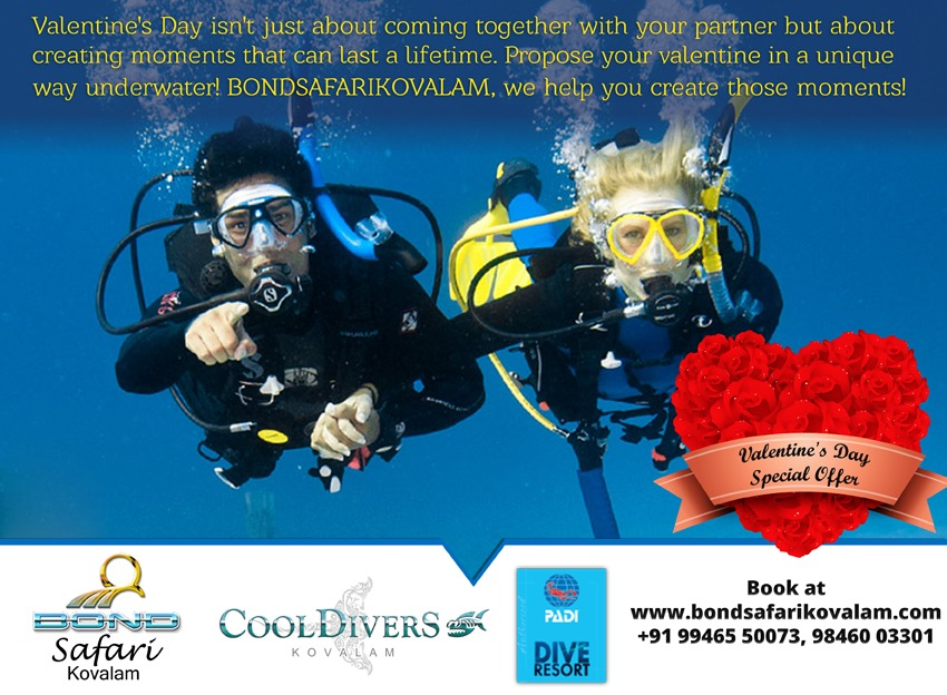 Bond safari kovalam underwater adventure