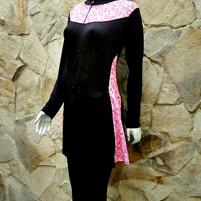 Baju Renang Muslimah Dewasa Tosca Abstrak f5aa9a6a69