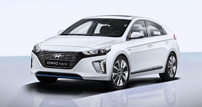 Hyundai Ioniq front view