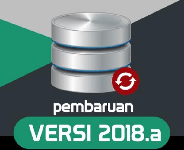 Pembaruan Aplikasi Dapodikdasmen Versi 2018.a