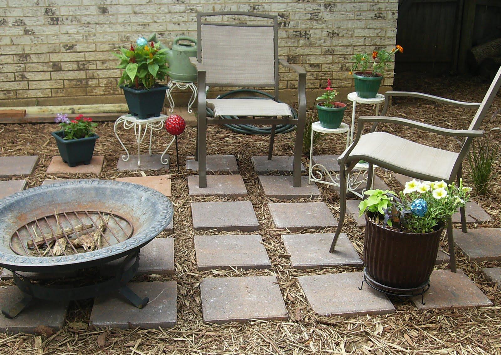 Support Blog for Moms of BOYS!: DIY Backyard Oasis on Diy Back Patio Ideas id=50302