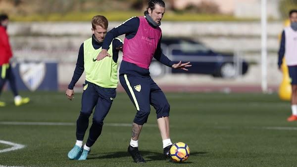 El Málaga descansa mañana y vuelve el día 2 a los entrenamientos