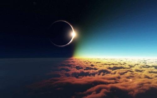 kesaksian gerhana matahari