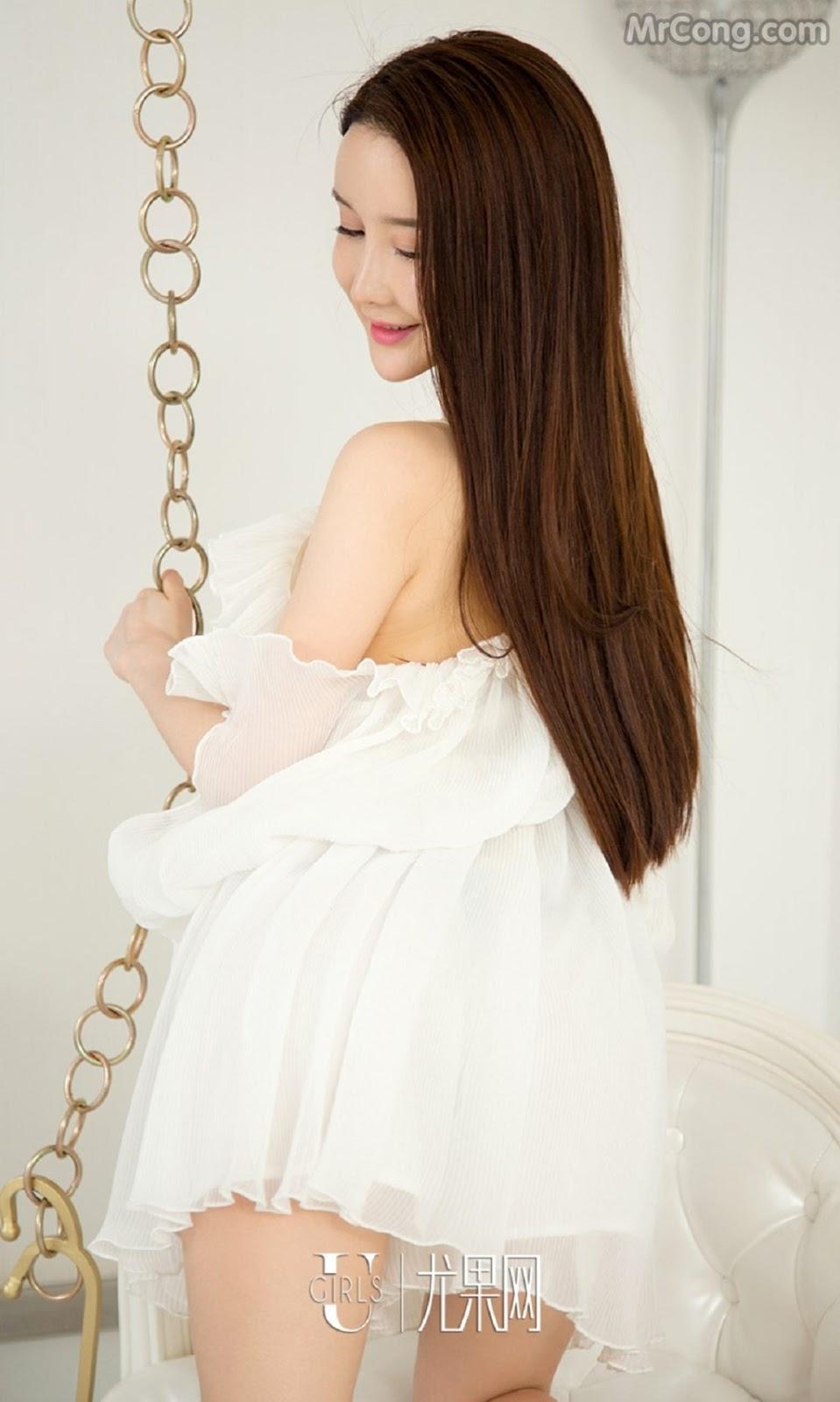 Image UGIRLS-Ai-You-Wu-App-No.733-Xia-Mei-MrCong.com-005 in post UGIRLS – Ai You Wu App No.733: Người mẫu Xia Mei (夏美) (39 ảnh)