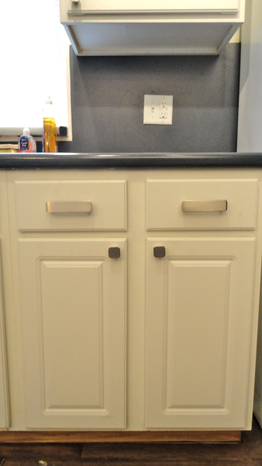 Eclectified Living: How to install cabinet hardware