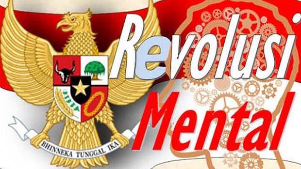 Revolusi Mental Itu Paradigma yang Fokus pada Perubahan