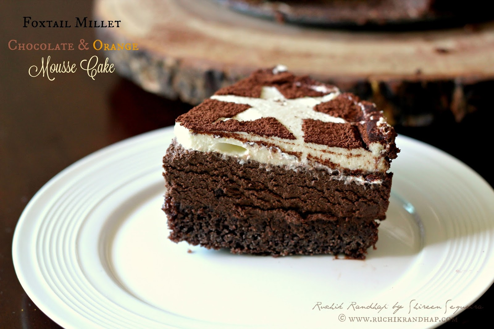 Chocolate Cake Recipe In Kannada: Foxtail Millet, Chocolate & Orange Mousse Cake