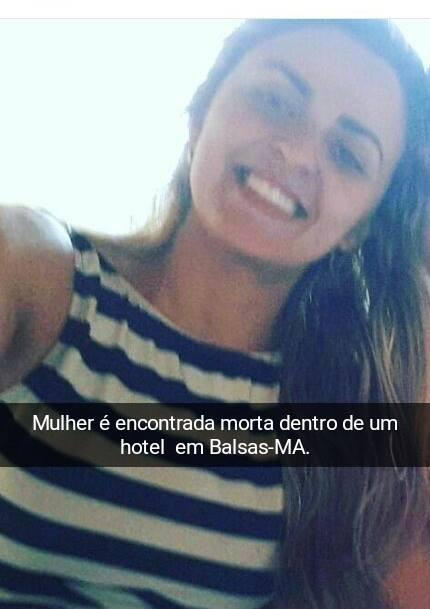 Ex-esposa de político em Fortaleza dos Nogueiras é encontrada enforcada em Balsas