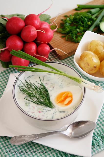 zupa na lato, orzeźwiająca zupa, letnie obiady, jak zrobić chłodnik, daylicooking