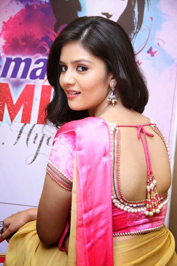 Indian Hot Actress Telugu Tv Anchor Sri Mukhi Sexy In