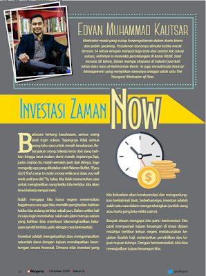 edvan m kautsar, motivator indonesia, motivator muda