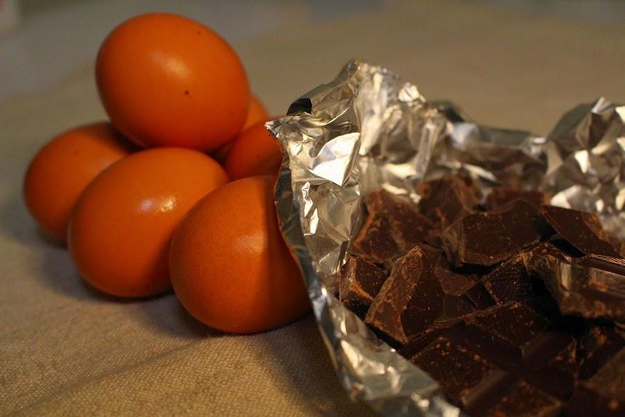 Ingredientes Mousse negra