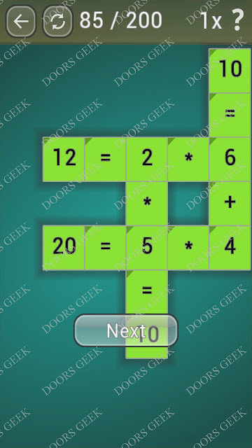 Math Games [Beginner] Level 85 answers, cheats, solution, walkthrough for android