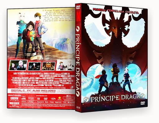 CAPA DVD – O Príncipe Dragão DVD-R