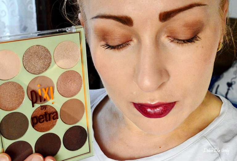 Pixi Eye Reflections Shadow Palette Natural Beauty makijaż