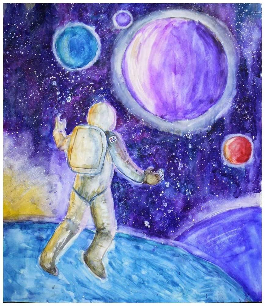 крайней создание картинок космос открытку добрым