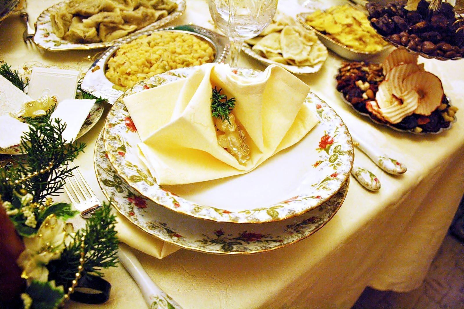 święta-w-domu-stół