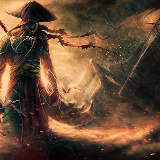 Samurai Wallpaper Engine