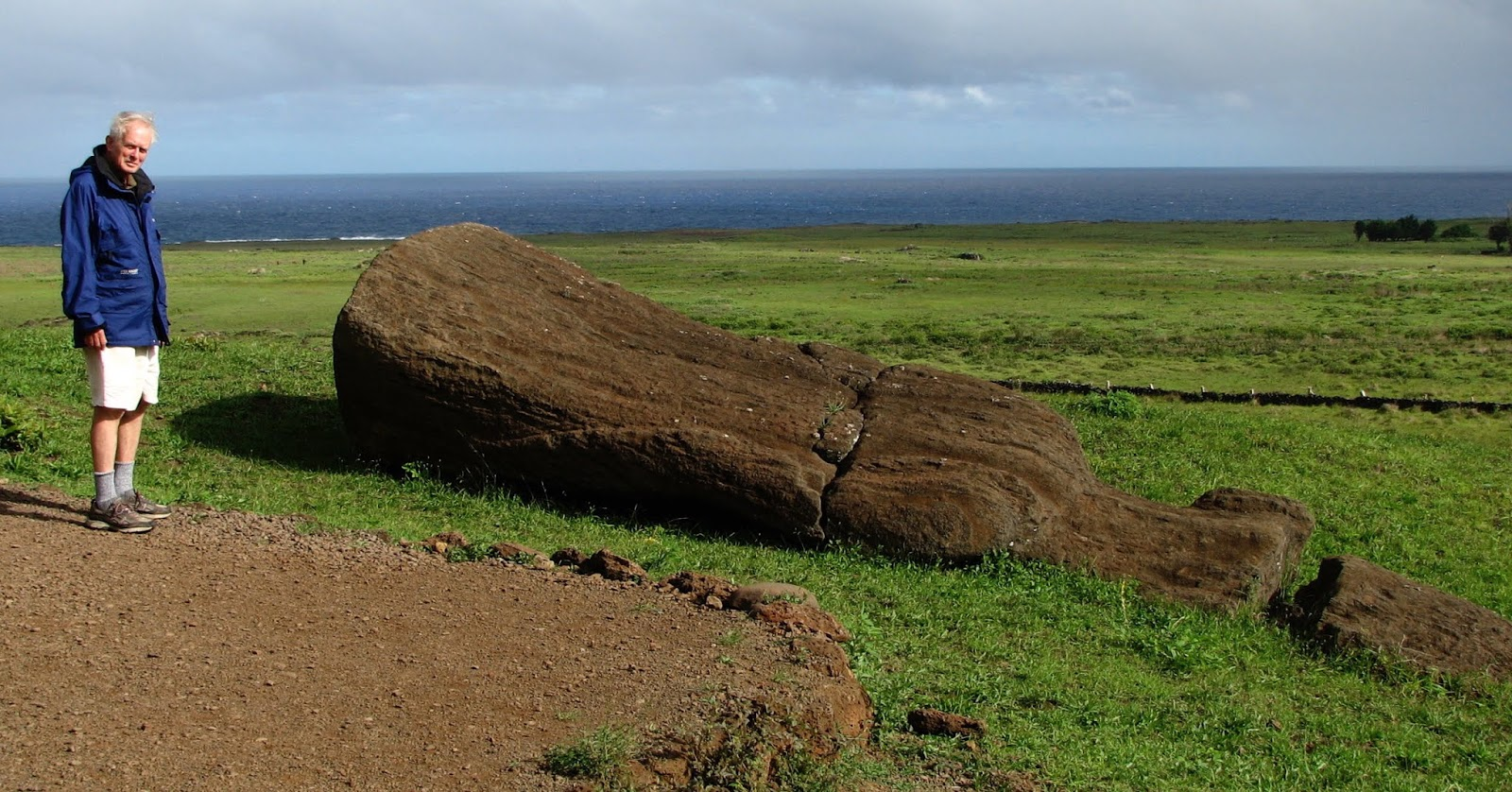 Troy on Easter Island