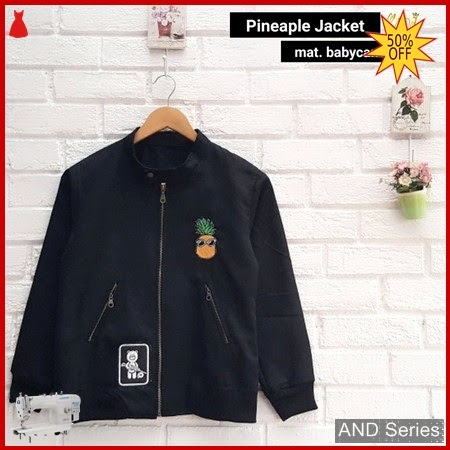 AND381 Jaket Wanita Pineaple Jacket Murah BMGShop