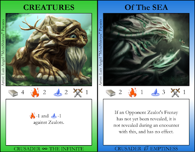 Creatures, Of the Sea