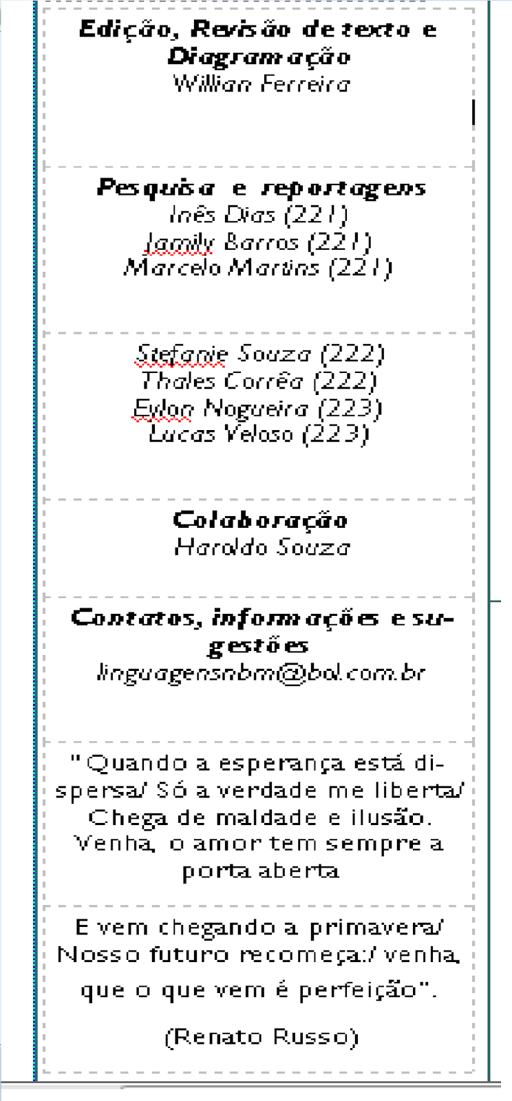 O To Ww Bing Comsquare Root 123: E. E. PROF NILTON BALIEIRO MACHADO: Atividade Integradora